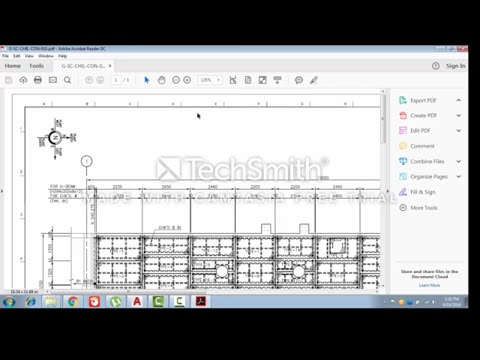 How to convert PDF drawing in Auto cad by Using Auto cad 2017 in Urdu/Hindi