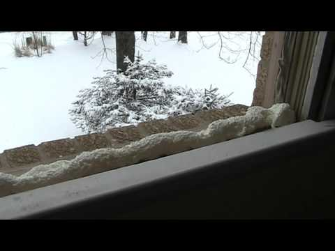How to install a home Window,  Installation / replacement of Home Window