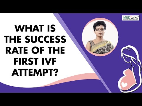 What is the success rate of first IVF attempt? - Dr Kaberi Banerjee