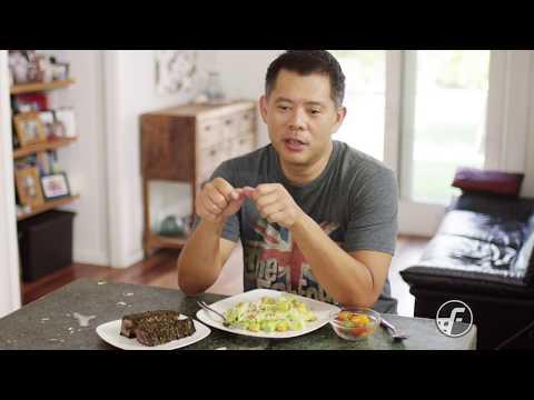 Scratch Made Caesar Salad with Seared Ahi