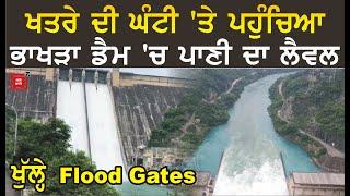 Bhakra Dam ਦੇ ਖੁੱਲ੍ਹੇ Flood Gates, ਦੇਖੋ Exclusive Video