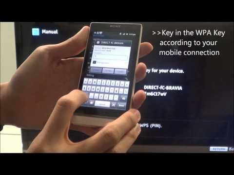 Sony BRAVIA Wi-Fi Direct Mode.wmv
