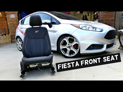 FORD FIESTA FRONT SEAT REMOVAL REPLACEMENT PASSENGER SEAT MK7 ST