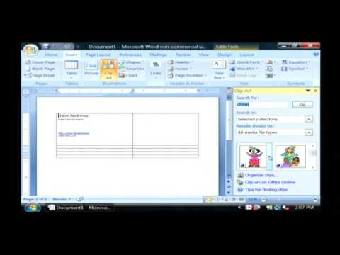 Computer Troubleshooting & Tech Support : How to Create Business Cards With Microsoft Word