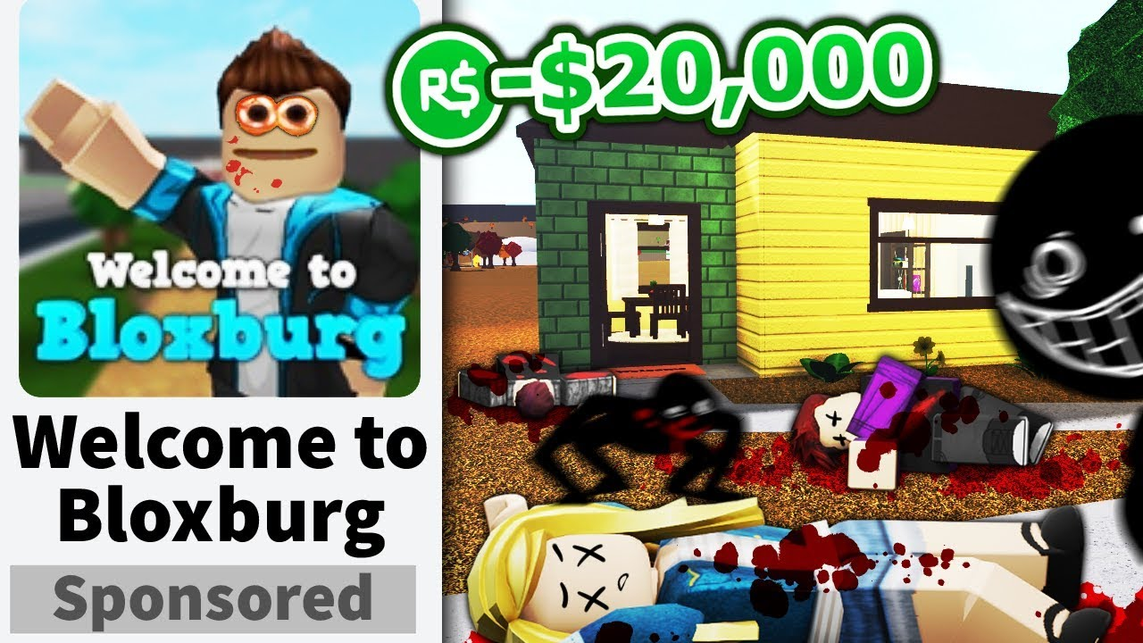 I advertised my FAKE Roblox game... and made it creepy