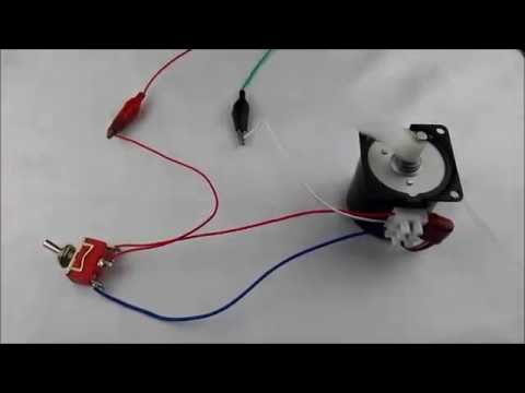 60KTYZ Synchronous Motor Wire Connection