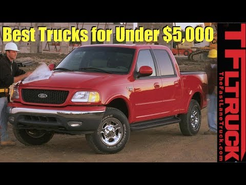 What is the Best First Truck For Under $5,000?