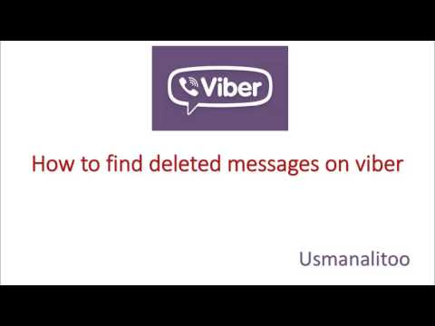 [Solved] How to find Deleted Messages on Viber Free & Easy