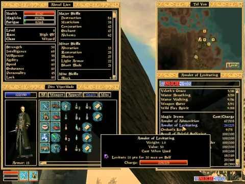 Let's Play Morrowind - Learning Spells & Visiting Tel Mora - 69