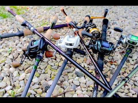2015 Rod & Reel Line-up (Bass Fishing)