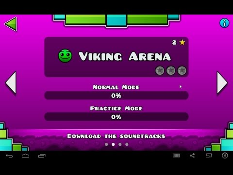 Geometry Dash Meltdown - Level 2: Viking Arena