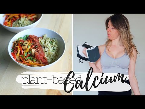 HIGH CALCIUM VEGAN FOODS & what i eat in a day