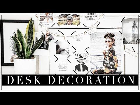 Desk Decor Hacks & DIY inspired by Instagram    Szilvia Bodi