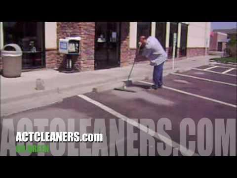 Asphalt Cleaner , How to clean asphalt parking spot , Asphalt stain remover