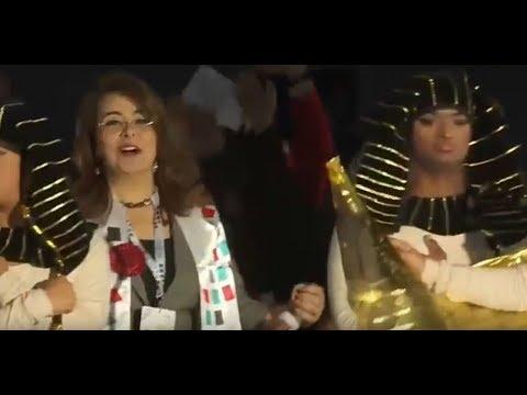 غادة والي تقود طابور عرض بعثة الأولمبياد الخاص في أبو ظبي 2018