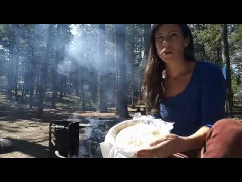 Baking Sourdough Bread in a Dutch Oven Over a Campfire Part 3 of 3