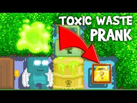 TOXIC WASTE PRANK! (ORIGINAL) | Growtopia