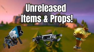 How To Get Unreleased Items, Weapons, And Props In Fortnite Creative! NEW VERSION