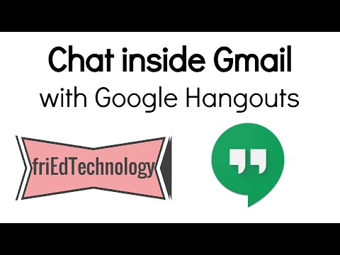 How to Chat from Gmail with Hangouts