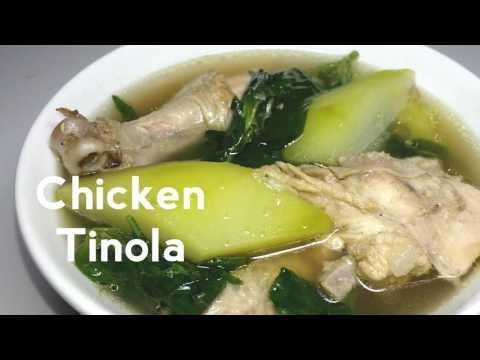 Chicken Tinola ( Tinolang Manok)