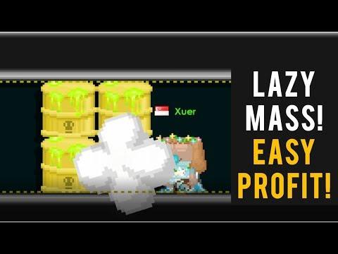 Growtopia | LAZY MASS PROFIT: TOXIC WASTE BARREL