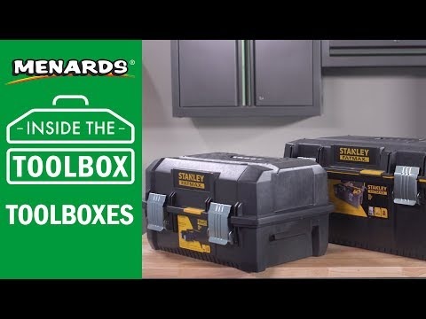 Menards - Inside the Toolbox - Toolboxes