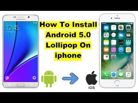 How To Download And Install Android Lollipop 5.0 On iphone 4 2017 - Solving Techniques
