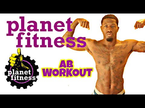 HOW TO GET SIX PACK ABS! PLANET FITNESS AB WORKOUT
