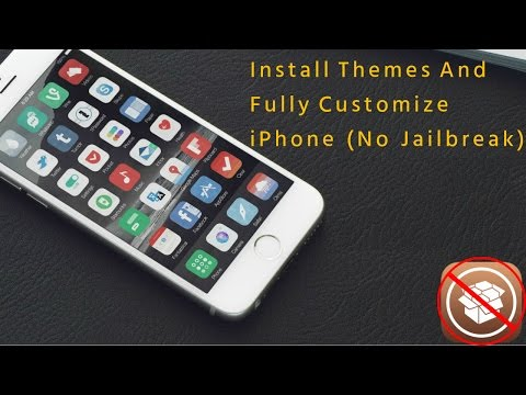Customize Your IPhone Install Themes No Jailbreak