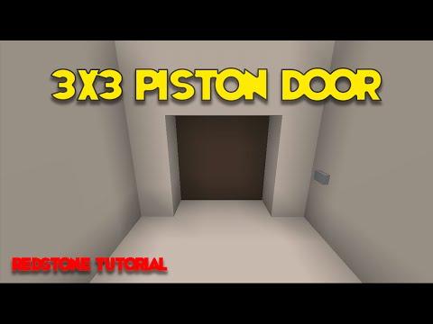3x3 Spiral Piston Door