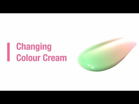 Changing Colour Cream
