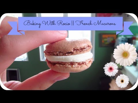 Make Your Own French Macarons! | Baking with Rocio