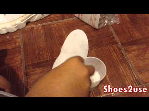 How to clean shoe insoles (tutorial)