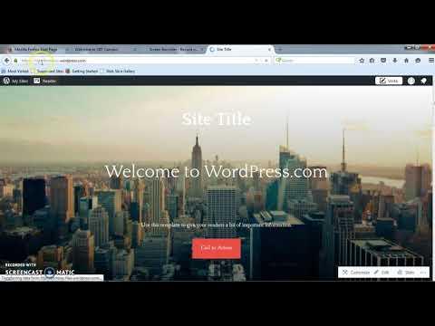 How to create website using wordpress Marathi