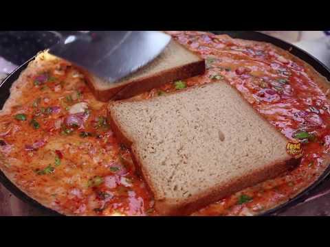 Bread Omelette @20 Rupees | Hyderabad Street Food |Food on road