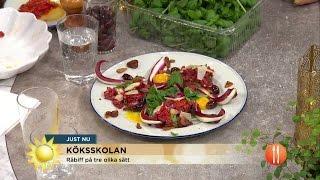 Steffos råvara: kött - Nyhetsmorgon (TV4)