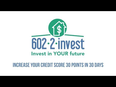 How to increase your credit score by 30 points in 30 days | 602-2-Invest