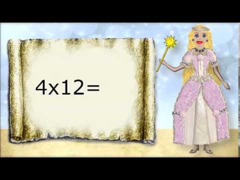 Math. Multiplying by 12