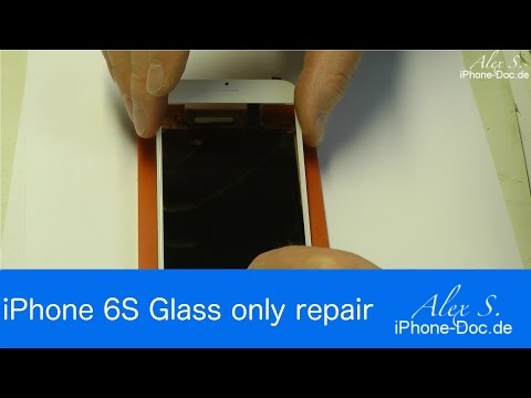 iPhone 6S GLASS ONLY Screen Repair, Glass / Polarizer replacement