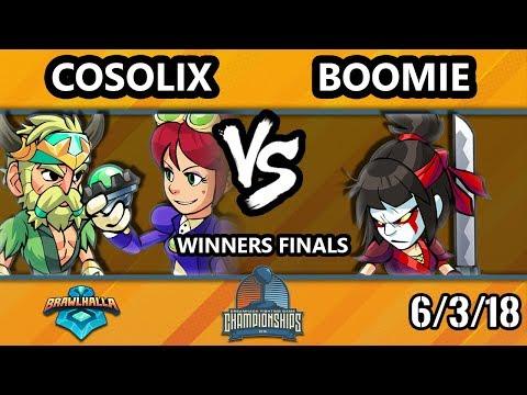 DHATX18 Brawlhalla - Born | Cosolix Vs  CYC | Boomie