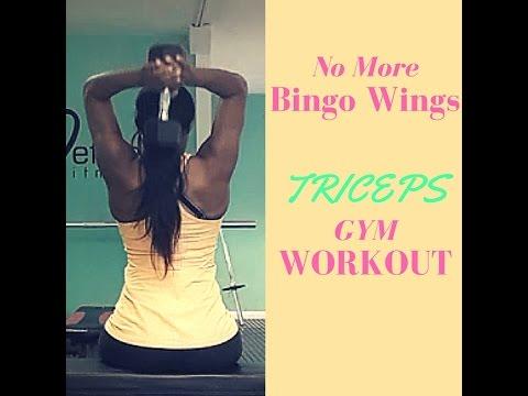 No More Bingo Wings - Tricep Gym Workout