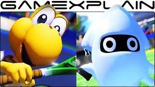 Mario Tennis Aces - Koopa Troopa & Blooper Character Trailers
