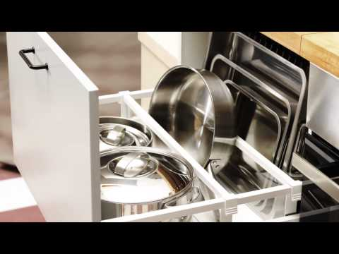 How to plan your IKEA kitchen storage and organisation — video