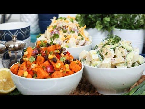 Easy Potato Salad 3 Delicious Ways