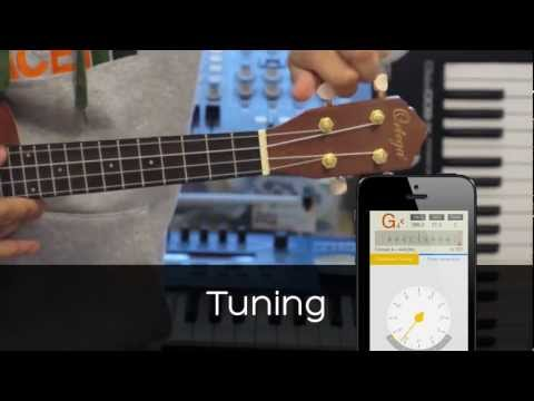 insTuner - Tune your ukulele/guitar to make a perfect sound!