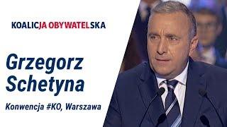 Przewodniczący Grzegorz Schetyna, Konwencja #KoalicjaObywatelska, Warszawa, 06.10.2019
