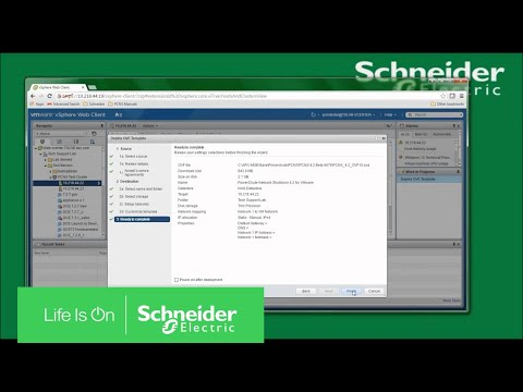 Installing PowerChute Network Shutdown on VMware ESXi with vCenter | Schneider Electric Support