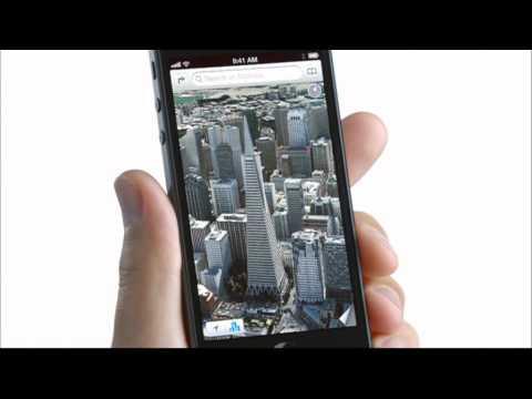 iPhone 5 x Google Street View to Go 廣告 SmartTone版