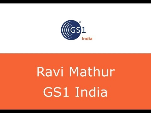 Ravi Mathur, GS1 India