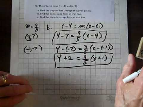 College Algebra Linear Equations